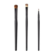 ON & OFF East Meets West Collection Large Oval Shader, Large Concealer and Firm Liner Brush Set