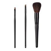 ON & OFF East Meets West Collection Medium Detailer, Precise Angle Line and Domed Powder Brush Set