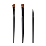 ON & OFF East Meets West Collection Large Angle Shader, Large Oval Shader and Firm Liner Brush Set