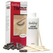 Eyebrow Tint Kit Professional 20 Applications Light Brown