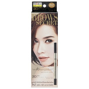 Mistine 3d Brow Secret 3 in 1 Shaper Brow Liner, Brow Shadow, Brow Mascara