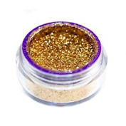 3g Jar 24k Gold Glimmer Dupe Shimmer Loose Pigment Eyeshadow Dust Use Wet or Dry Custom Dark Yellow Glitter