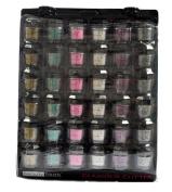 Glomour Glitter For Makeup Eye Shadow,Face Nails 6 Colour 3 Dozen