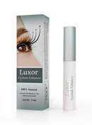 LUXOR Eyelash And Eyebrow Brow Enhancing & Lengthening Serum. 100% NATURAL & Highest Quality Ingredients Used. For Best Results Eye Lash and Eye Brow Enhancer And Long Thick EyeLashes and Eyebrow Hair Growth and Regrowth. Rated Best Eyelash Growth Trea ..