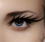 Sexy Eye Liner Temporary Tattoo Set Gothic Makeup