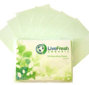 NEW Oil Absorbing Sheets | Premium Blotting Paper - 100 Pack - Voted #1 Best Oil Blotting Sheets + Zero Risk.