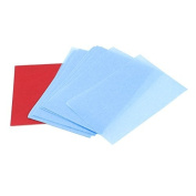 FOREVER YUNG 51 Sheets Travel Cosmetic Makeup Facial Oil Blotting Film Paper Blue