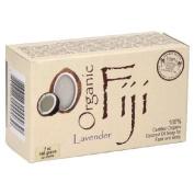 Organic Fiji Face and Body Coconut Oil Soap Lavender 210ml - Vegan