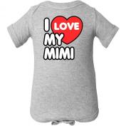 Inktastic Unisex Baby I Love My Mimi Infant Creeper