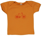 TwOOwls Bicycle Short Sleeve Tee -100% organic cotton-Made in the USA