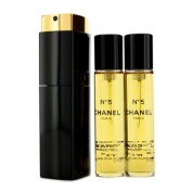 No.5 Eau De Toilette Purse Spray And 2 Refills (Limited Edition), 3x20ml/0.7oz