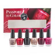 Passport To Colors Mini Set, 6x3.75ml/0.13oz