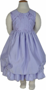 Girls Lilac Sleeveless Dress 6-12 months - 4-5 years