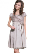 Sweet Mommy Maternity and Nursing Satin Formal Dress