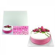 """Veka Baby Products-Square 12"""" Cake Board 3mm"""