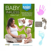 Veka Baby Products-Baby Inkless Print Kit - Pink - by Save The Moment