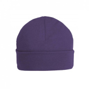 Veka Baby Products-Purple Unbranded 0-3m Plain Baby Beanie Hat