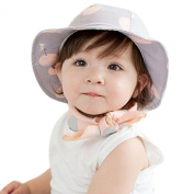 Culater® New Child Baby Newborn Princess Sunshine Hat Fisherman Cap