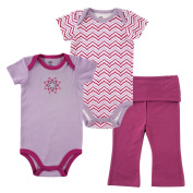 Yoga Sprout Baby 2 Bodysuit and Bottoms Set