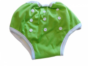 Three Little Imps Button Up Toddler Training Pants 8-35+ pounds - Green