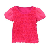 Hot Pink Rosette Top Size 1 Colour
