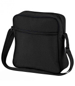 Bagbase Unisex Adults Retro Flight Bag Black One Size
