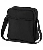 Bagbase Unisex Adults Retro Flight Bag Black One Size