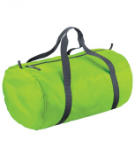 Bagbase Unisex Adults Packaway Barrel Bag