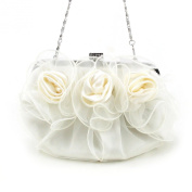 H:oter® Collection Flower-Shape Prom & Party Evening Handbag, Clutch Bag, Gift Ideas--Colours Various