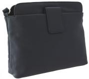 Ashlie Craft Leather Shoulder Bag Style AC8200_ac Navy