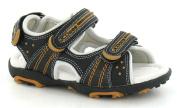 JCDees Flat 3 Velcro Strap Sling Sandal