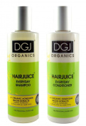 DGJ Organics HairJuice Honeydew Melon Everyday Shampoo 250ml & Conditioner 250ml Duo