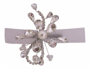 Pick A Gem Stunning. Crystal and Pearl Hair Clip /Beak Clip