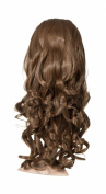 Eva Loose Curl Half Head (Golden Brown) (Many Other Colours are Available) ...