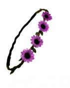 Zac's Alter Ego® Daisy/ Sunflower Flower Head Elastic for Weddings, Festivals, Fancy Dress