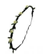 Zac's Alter Ego® Rose Flower Head Elastic for Weddings, Festivals, Fancy Dress