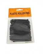 Zac's Alter Ego® 80 Pieces Black Plastic Roller Pins