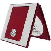 FMG Red Mirror with True Image and 5X Magnification with Crystallised. Elements