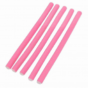 Move & Moving(TM) DIY Hairstyle Salon Pink Soft Foam Hair Roller Bendy Curlers x 5