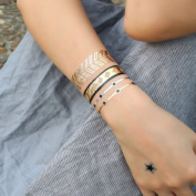 Gold Flash Tattoos, Golden Skin Tattoos, Temporary Tattoos, Tattoo Jewellery, DK13