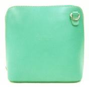 Vera Pelle Genuine Italian Leather Womens Cross Body Bag