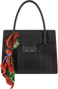 Love Moschino Womens Borsa Saffiano Flap Bag Black