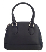 BETTY Top-Handle-Handbags Women's Bags Handcraft Genuine Leather Made in Italy-Blue