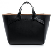 FEYNSINN tote bag - handheld Purse ELIN - ladies bag black leather