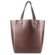 Scotch & Vain large shopper - Shoulder bag TRISH - ladies bag brown leather