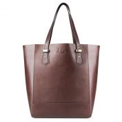 Scotch & Vain large shopper - Shoulder bag TRISH - ladies bag brown leather