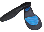 Sole Control Ultra Orthotic Insoles, arch Supports, Bubble Gel heel and Metatarsal Pads