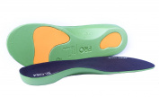 3 pairs Pro11 wellbeing WorX Series Orthotic insoles for plantar Fasciitis and fallen arches