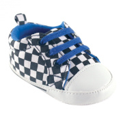 Luvable Friends Baby Non Slip Basic Canvas Trainer Sneaker Booties Baby Shoes