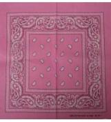 Pink Bandanna - Paisley